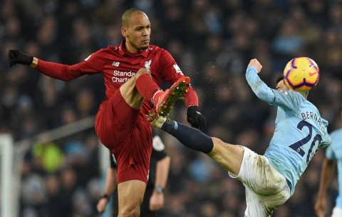 Legenda: Fabinho Belum Maksimal di Liverpool