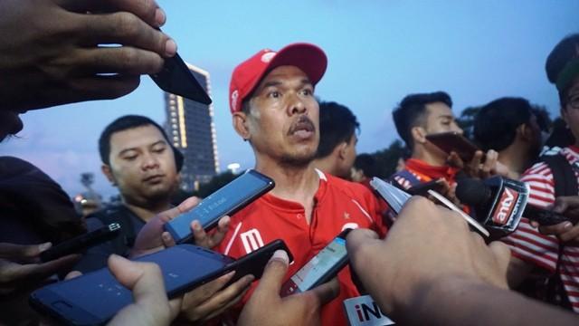Asisten pelatih Persija Jakarta Mustaqim-Medcom.id/KAUTSAR HALIM