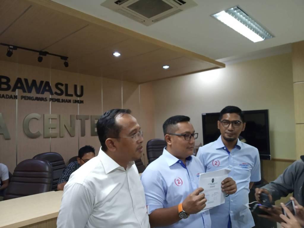 BPN Prabowo-Sandi Laporkan KPU ke DKPP - Medcom.id/Pudja Lestari.