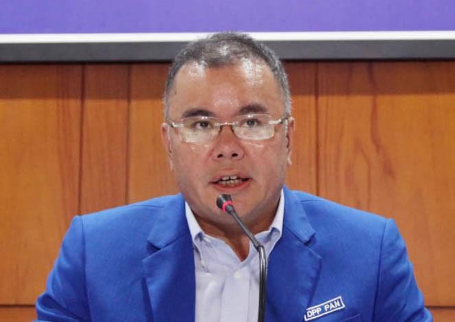 Wakil Ketua Umum Partai Amanat Nasional (PAN) Bara Hasibuan. Foto: MI/Panca Syurkani.