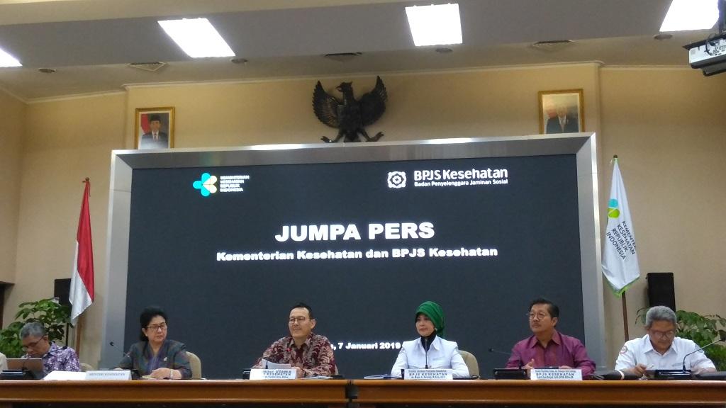 Konpers soal BPJS Kesehatan - Medcom.id/Muhammad Syahrul Ramadhan.