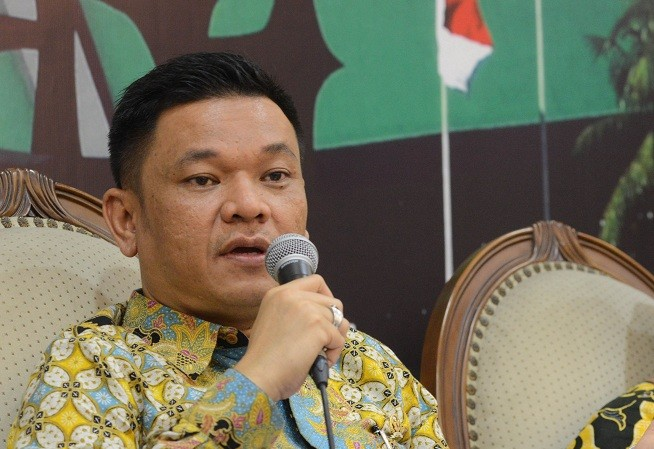 Juru Bicara Tim Kampanye Nasional (TKN) Joko Widodo-Ma'ruf Amin, Ace Hasan Syadzily - M/Irfan.