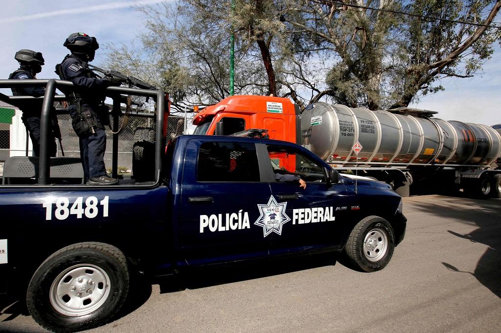 Polisi berpatroli di El Salto, Jalisco, Meksiko, 7 Januari 2019. (Foto: AFP/ULISES RUIZ)