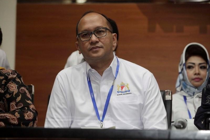 Ketua Kadin Rosan P Roeslani. MI/Panca Syaukarni.