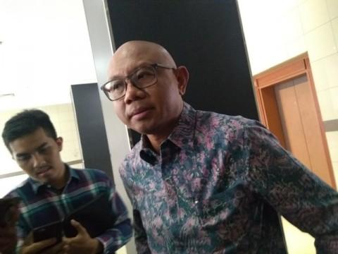 Direktur Utama PT MRT Jakarta William P. Sabandar. Foto: Medcom.id/Kautsar Widya Prabowo.
