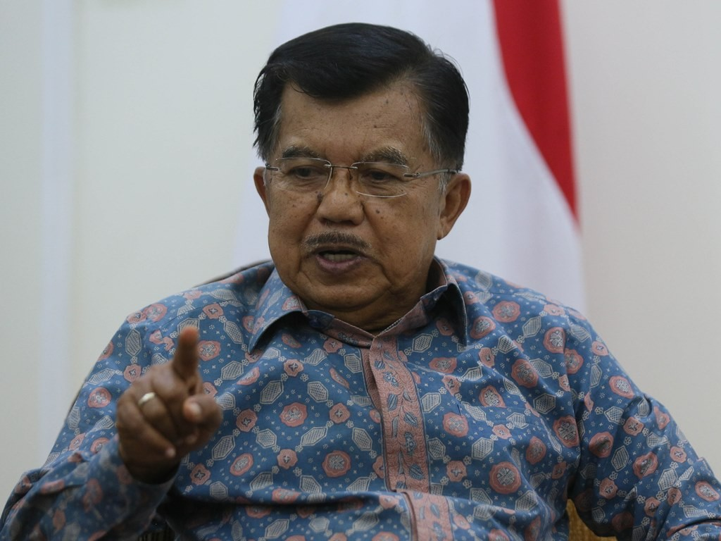 Wakil Presiden Jusuf Kalla. Foto: MI/Ramdani.