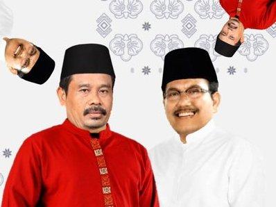 Pasangan calon presiden dan wakil presiden fiktif Nurhadi-Aldo. Foto: Akun Twitter @nurhadi_aldo.