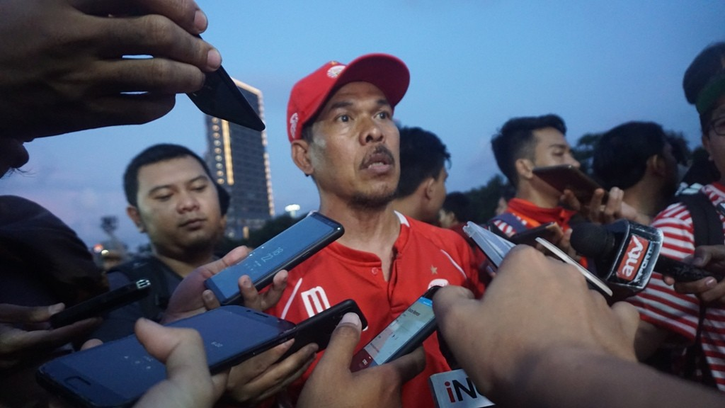 Asisten pelatih Persija Mustaqim jelang hadapi Kepri 757 Jaya di babak 32 besar Piala Indonesia. (Foto: medcom.id/Kautsar Halim)