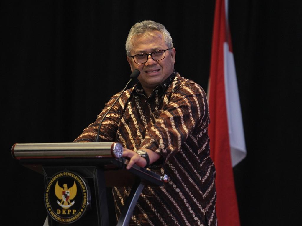 Ketua KPU Arief Budiman. Foto: MI/Pius Erlangga.