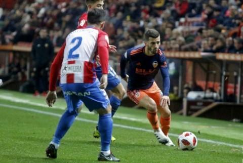Valencia Ditumbangkan Tim Kasta Kedua