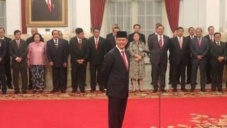 Presiden Lantik Letjen Doni Sebagai Kepala BNPB