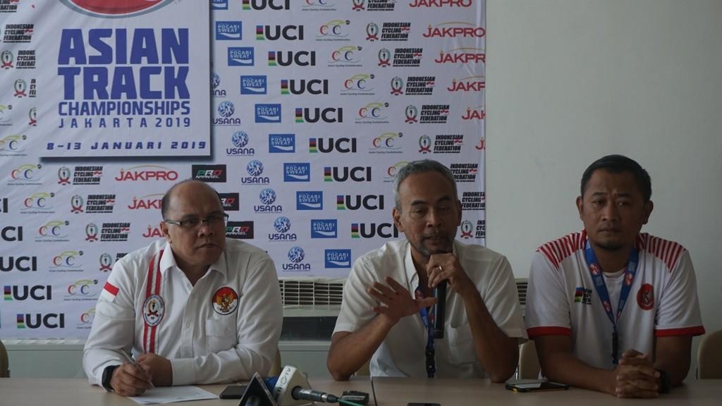 Ketua Panpel ATC 2019, Parama Nugroho (tengah). (Foto: medcom.id/Kautsar Halim)