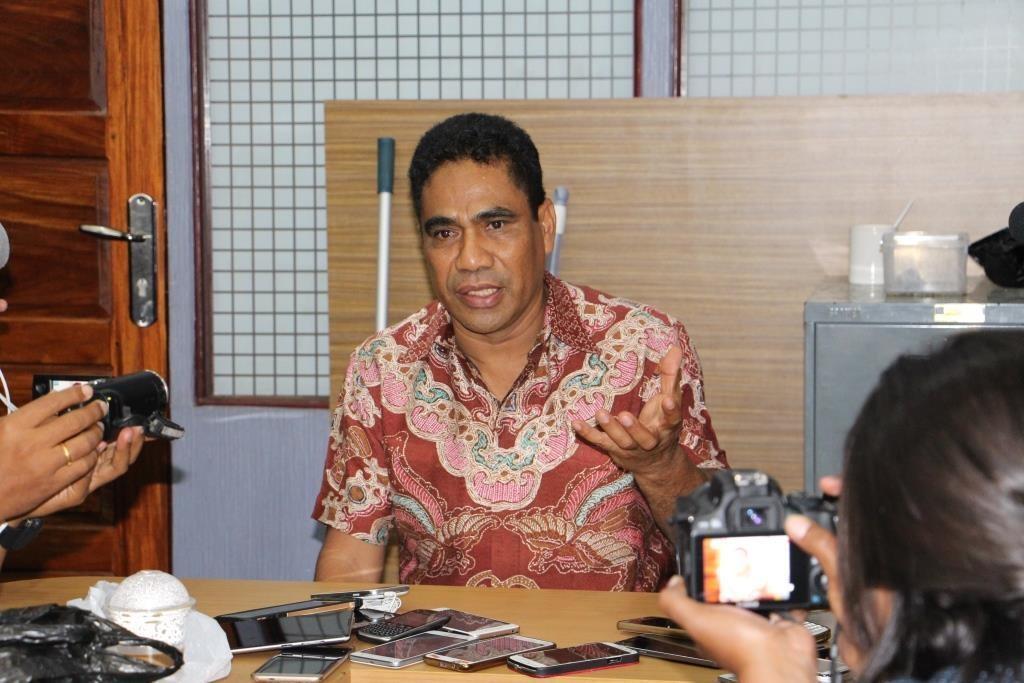 Sekretaris Daerah (Sekda) Provinsi Papua Hery Dosinaen. (Foto: MI/Marcel Kelen)