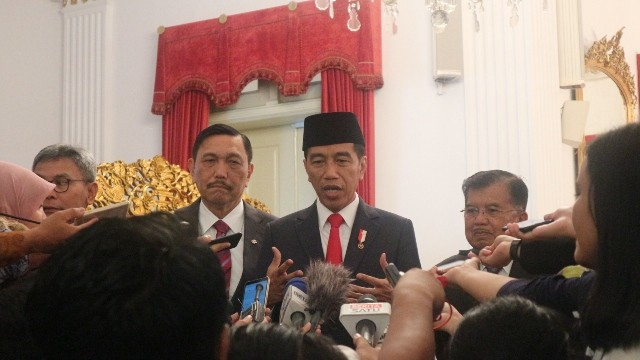 Presiden Joko Widodo/Medcom.id/Dheri Agriesta