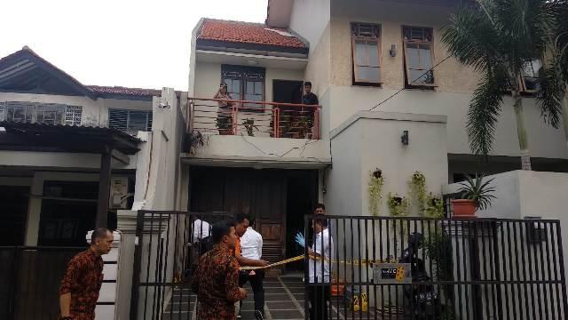 kediaman Wakil Ketua KPK Laode Muhammad Syarif  di Jalan Kalibata Selatan, Pancoran, Jakarta Selatan. Foto: Ist