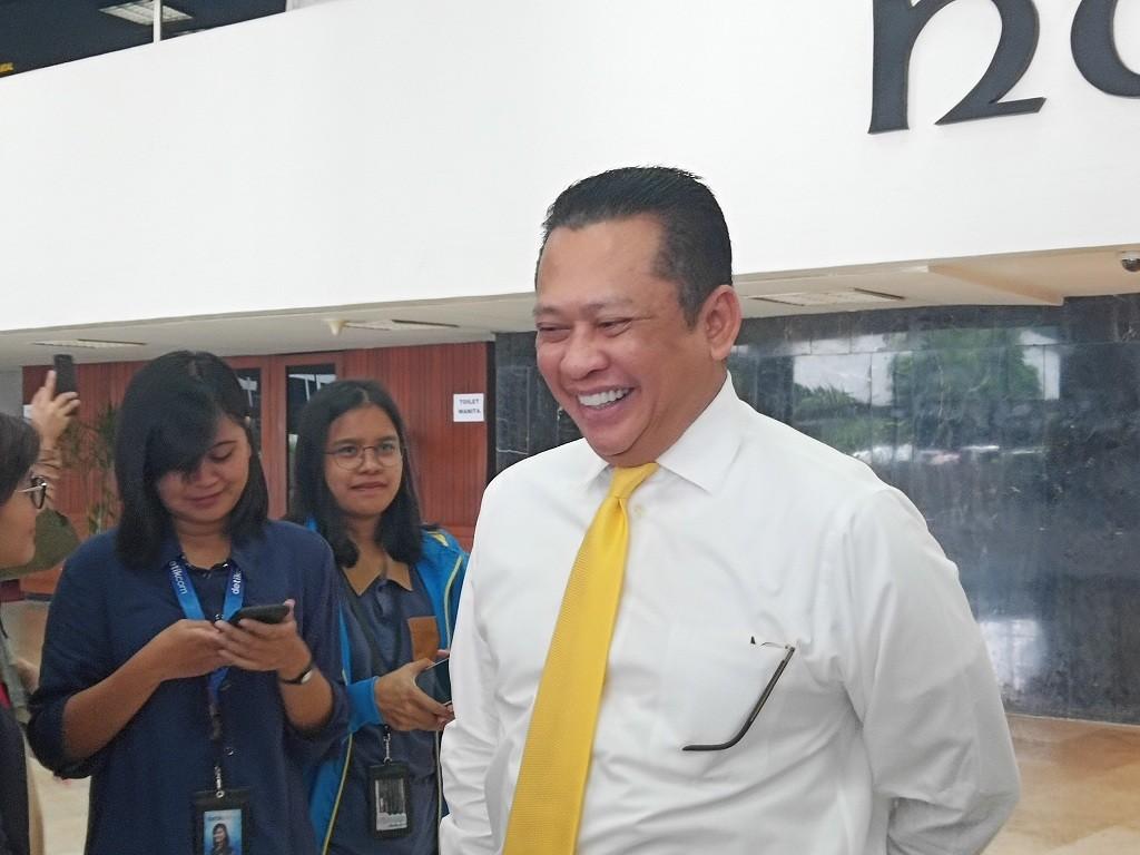 Ketua DPR RI Bambang Soesatyo - Medcom.id/Marselina Tabita.