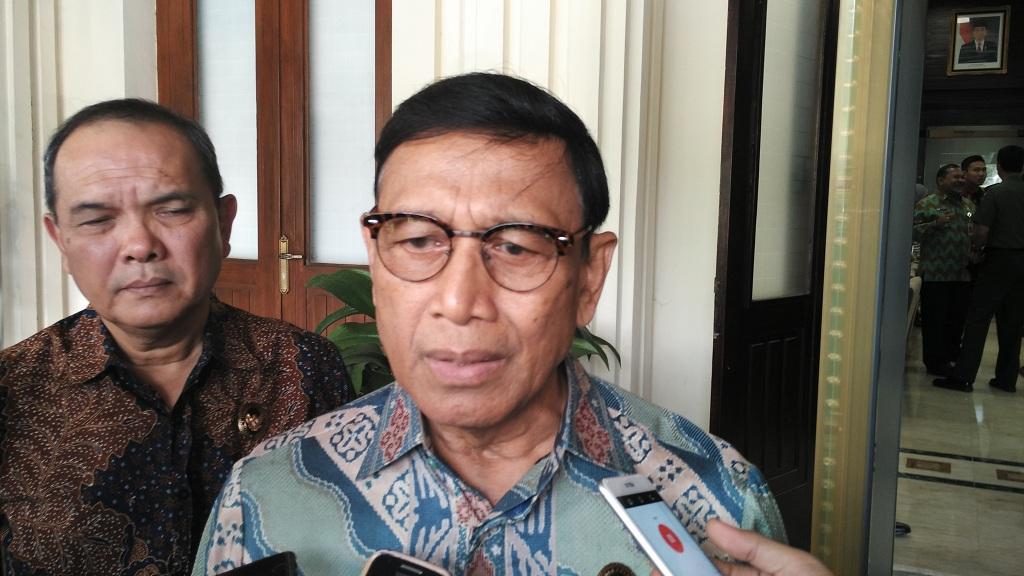 Menteri Koordinator bidang Politik, Hukum, dan Keamanan Wiranto - Medcom.id/Dheri Agriesta.