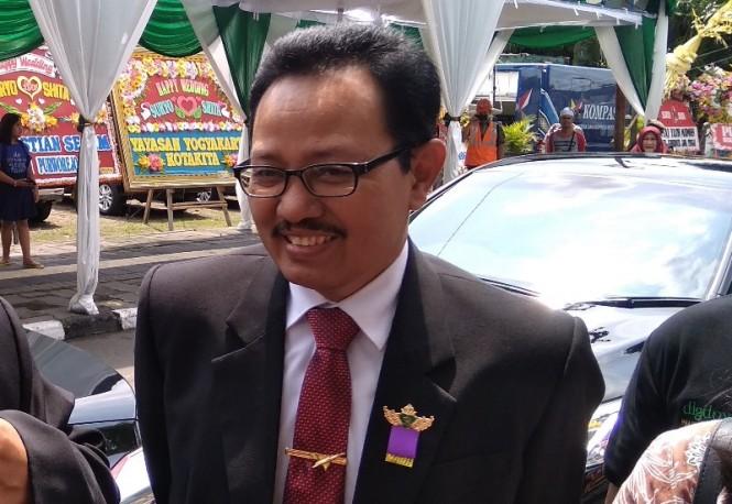 Wakil Wali Kota Yogyakarta, Heroe Poerwadi di Yogyakarta, Rabu, 9 Januari 2019. Medcom.id/ Ahmad Mustaqim.