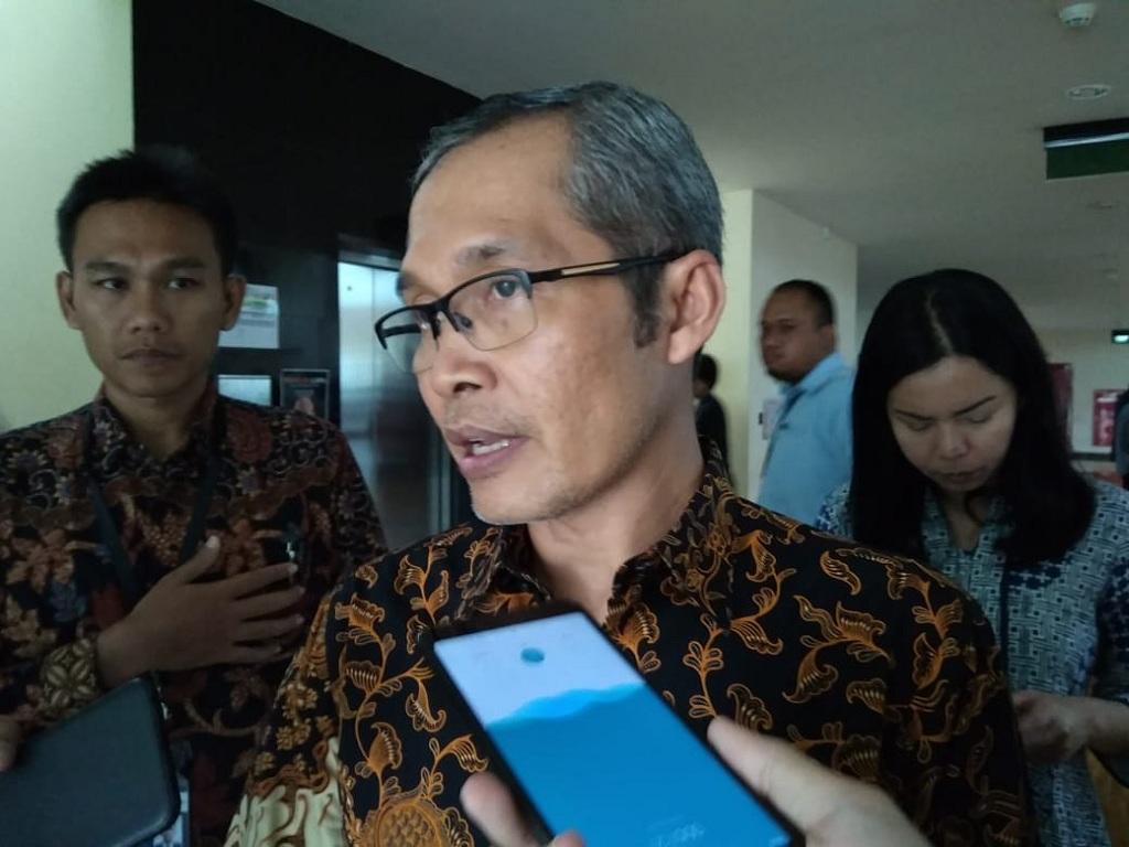 Wakil Ketua KPK Alexander Marwata - Medcom.id/Sunnaholomi Halakrispen.