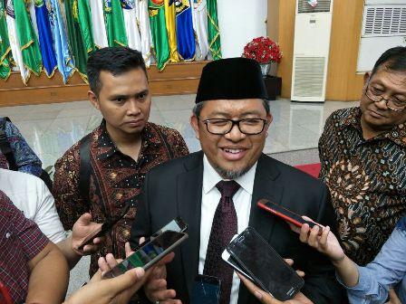 Former West Java Governor Ahmad Heryawan (Photo:Medcom.id/Adin)