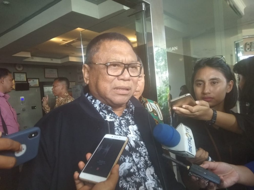 Ketua Umum Partai Hanura Oesman Sapta Odang (OSO). Foto: Medcom.id/Faisal Abdalla.