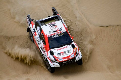 Alonso Tertarik Tes Mobil Dakar Rally Milik Al-Attiyah