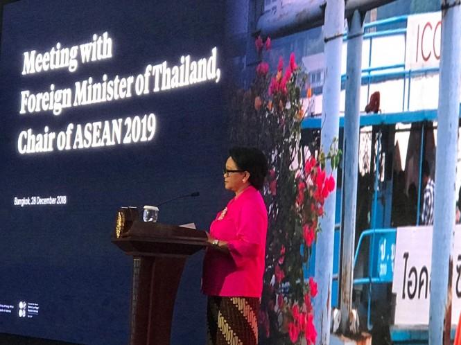 Menteri Luar Negeri RI Retno Marsudi (Foto:Medcom.id/Fajar)