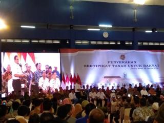 Bidang Tanah Warga Jakarta Barat Sepenuhnya Bersertifikat