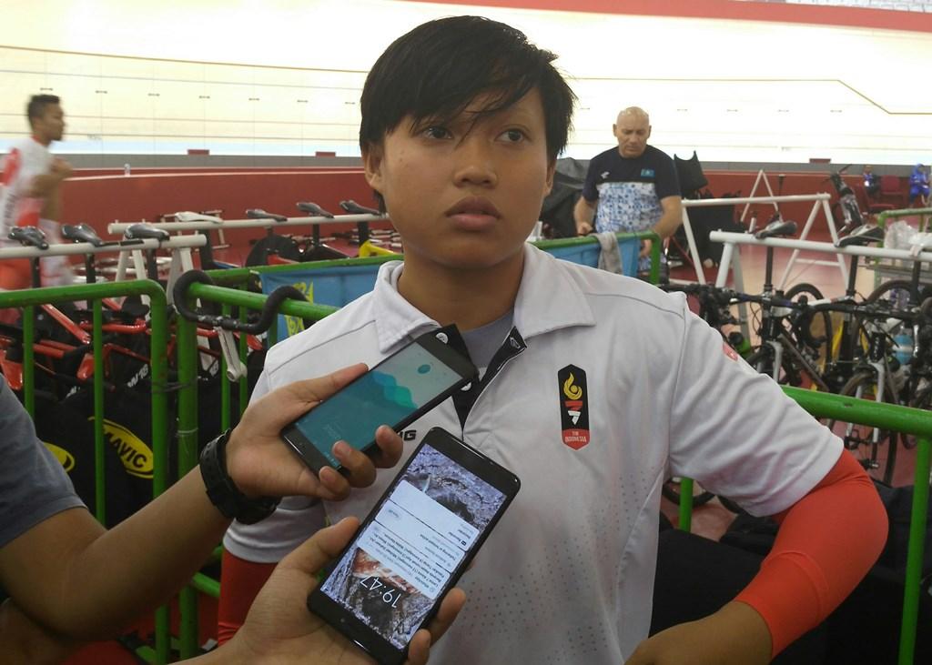 Wiji Lestari gagal menyumbang medali karena persiapan mepet (Medcom.id/Kautsar)