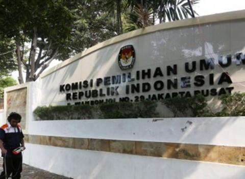 Gedung KPU/MI/Ramdani