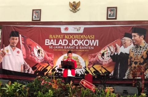 Relawan Balad Jokowi Optimistis Menang Telak  di Jabar dan Banten