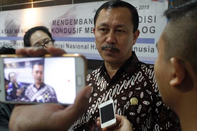 Ketua Komnas HAM Ahmad Taufan Damanik. Foto: MI/Bary Fathahilah