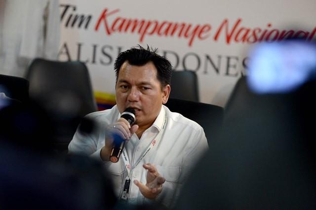 Direktur Hukum dan Advokasi Tim Kampanye Nasional (TKN) Joko Widodo-Ma'ruf Amin, Irfan Pulungan. Foto: MI/Susanto