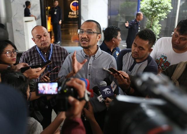 Mantan Ketua Komisi Pemberantasan Korupsi (KPK) Abraham Samad. Foto: MI/Ramdani