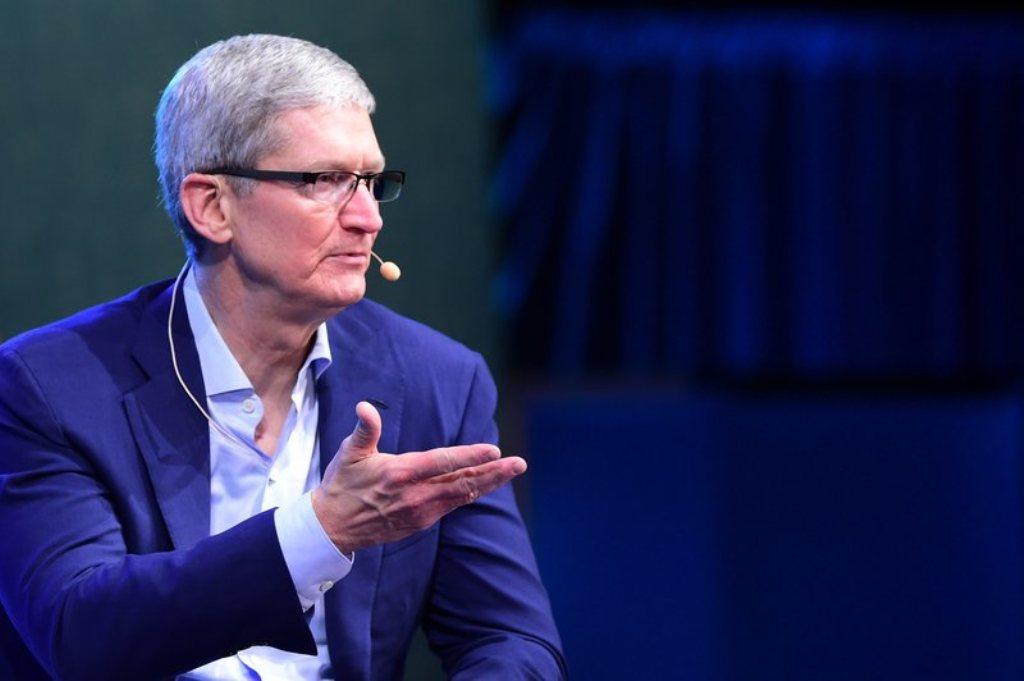 CEO Apple Tim Cook (FOTO: AFP)