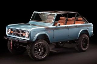 Ford Bronco Eksotis ala Maxlider Brothers Customs