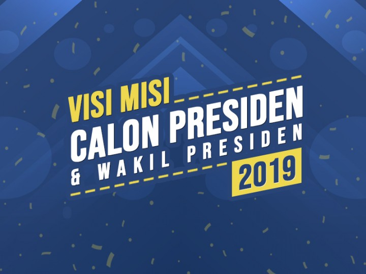 Visi Misi Calon Presiden dan Wakil Presiden 2019