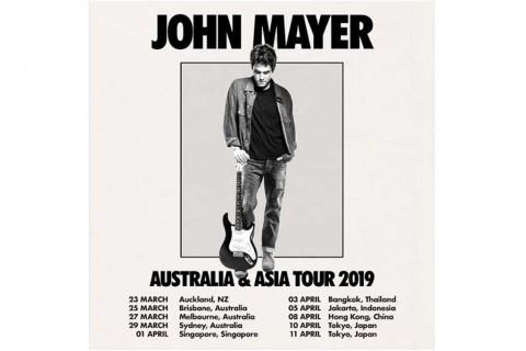 Poster konser John Mayer (Foto: Instagram Third Eye Management)