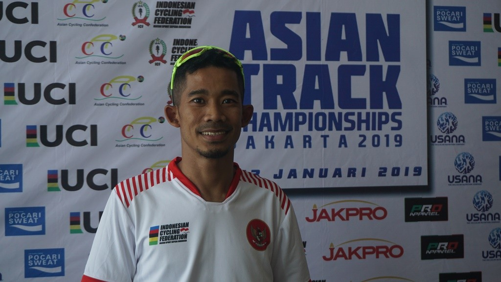 Pembalap para-cycling Indonesia, M. Fadli. (Foto: medcom.id/Kautsar Halim)