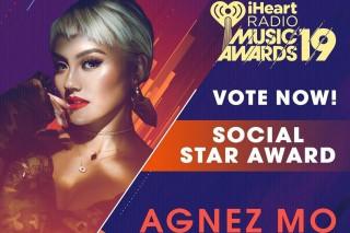 Agnez Mo Masuk Nominasi iHeartRadio Music Awards 2019