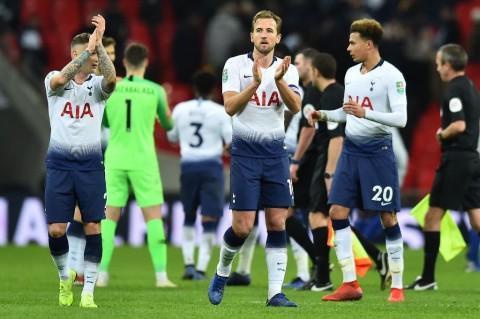 Penggawa Tottenham Hotspur. (Foto: AFP/Glyn Kirk)