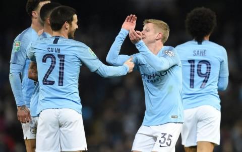 Menang 9-0 atas Burton, Gelandang Manchester City tidak Puas