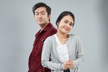 Rizky Nazar (kiri).  Michelle Ziudith (kanan) (Foto: Screenplay Pictures)