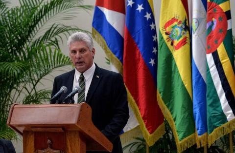 Presiden Kuba Miguel Diaz-Canel. (FOTO: AFP)