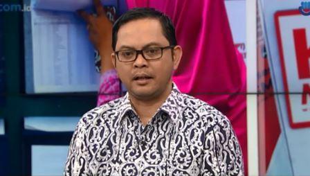 Komisioner KPU Viryan Aziz. (Foto: Metro TV)