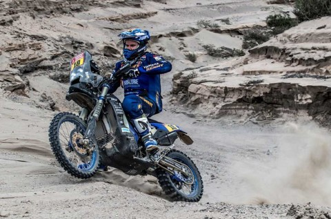 Xavier de Soultrait jadi pemenang di etape ketiga Dakar Rally