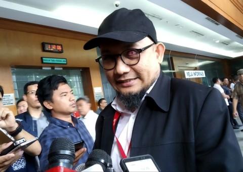 Novel Desak TGPF Teror Pimpinan KPK Dibentuk
