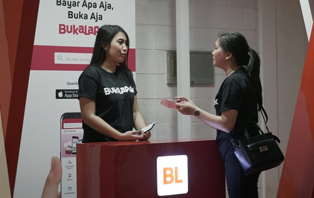 Ilustrasi Bukalapak. (FOTO: Medcom.id/Dian Ihsan Siregar)