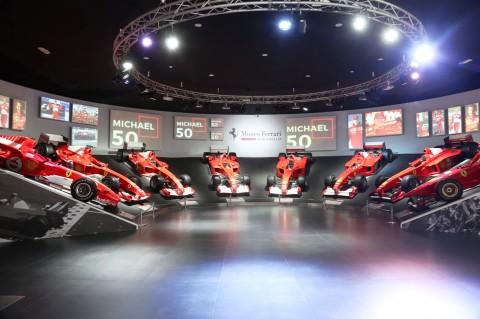 Cara Unik Ferrari Rayakan Ulang Tahun Michael Schumacher