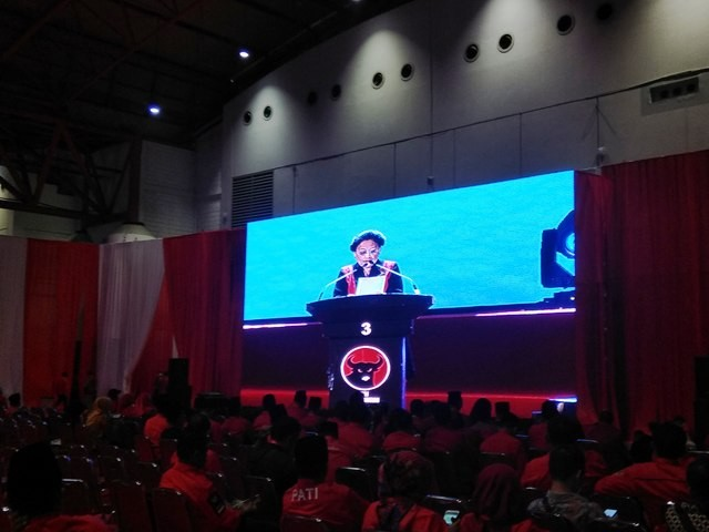 Ketua Umum PDI Perjuangan Megawati Soekarnoputri. - Foto: Medcom.id/Fachri Audhia Hafiez.